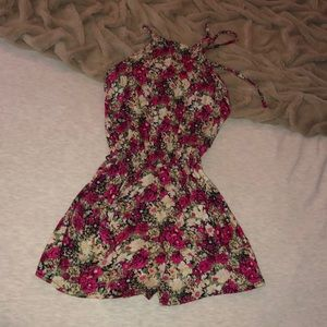 Pants - Floral Romper (from Italy)